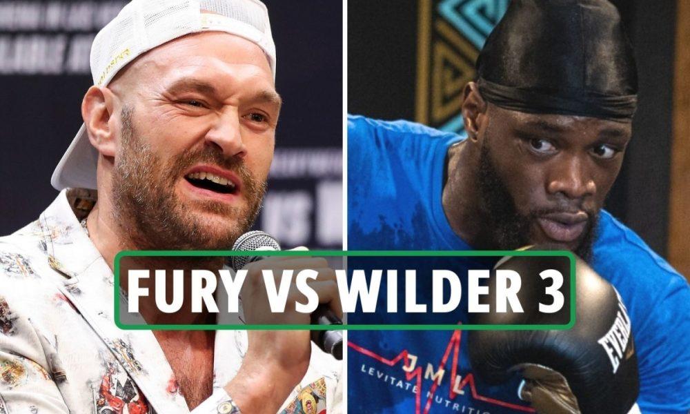 Tyson Fury vs Deontay Wilder 3 date: UK start time, live stream, TV channel  - New York Folk